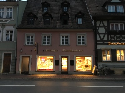 We will get to buy fresh bread in the morning from this place, for example