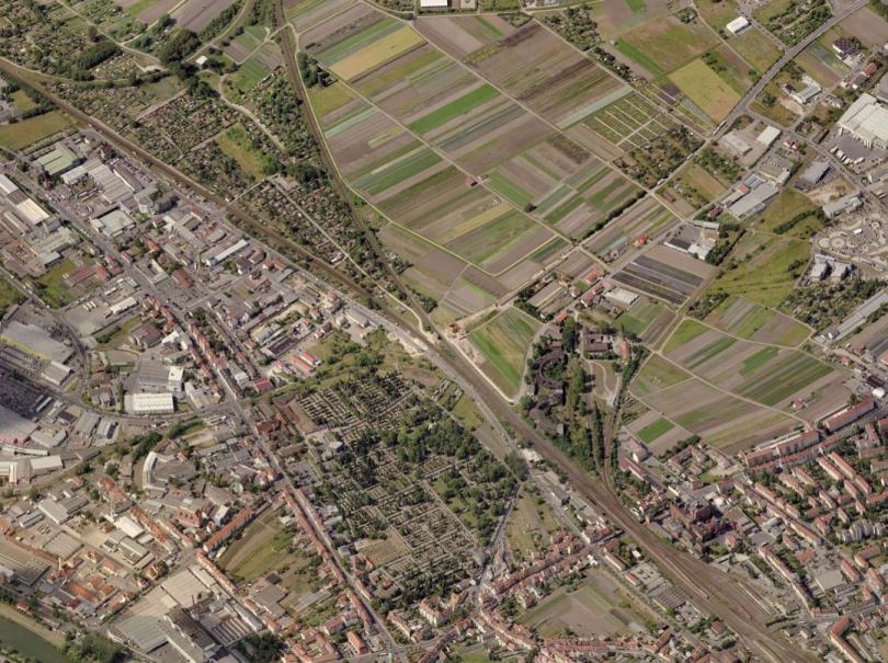 Bamberg aerial