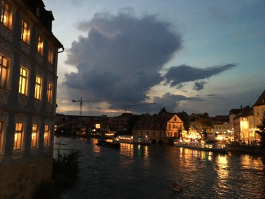 Bamberg on a summer night