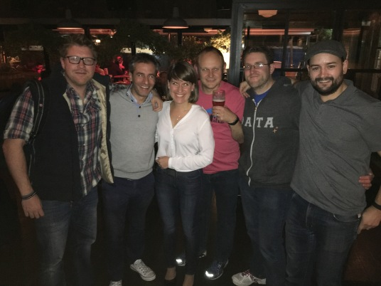 Awesome to see my Tableau family for the first time since #data15