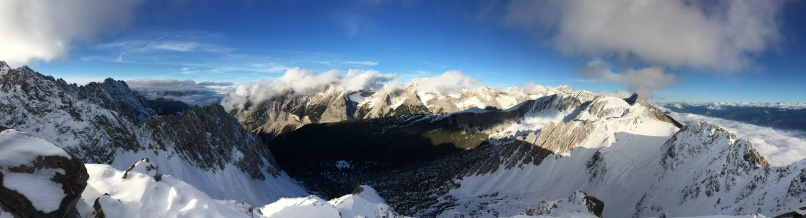 1 January above Innsbruck