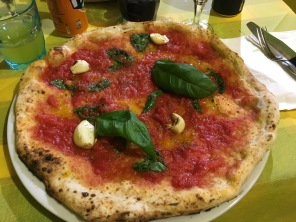 Pizza in Milan