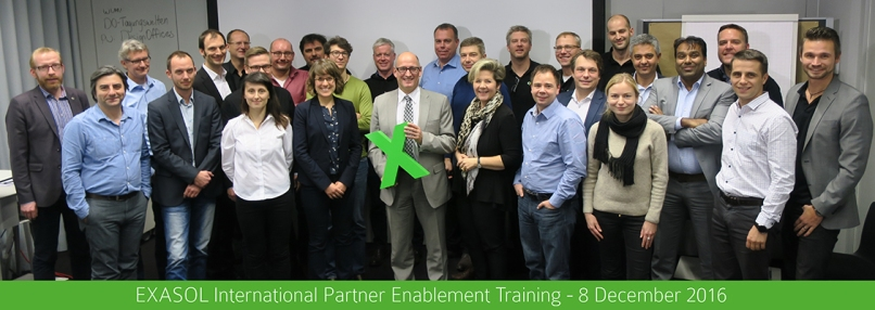 EXASOL Partner Enablement Training