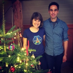 Merry Christmas from Eva and Paul