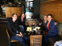 Ladies' lunch with the ABC team