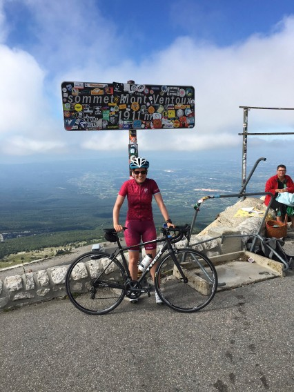 Summit of Mt Ventoux