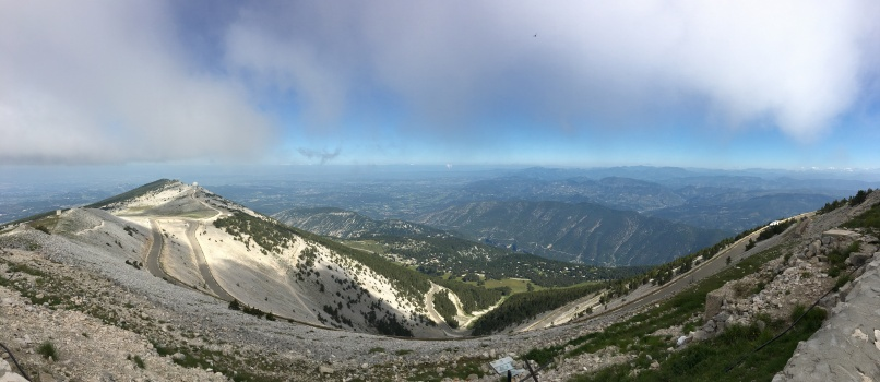 From Mt Ventoux