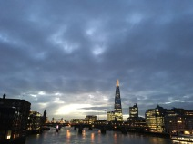 Sunrise and the Shard