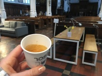 Coffee in the church