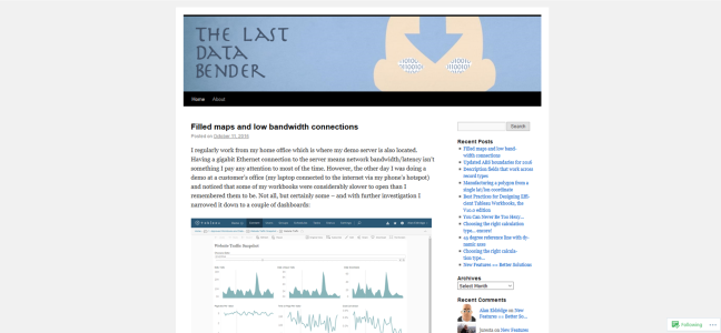 The last Data Bender - Alan Eldrige